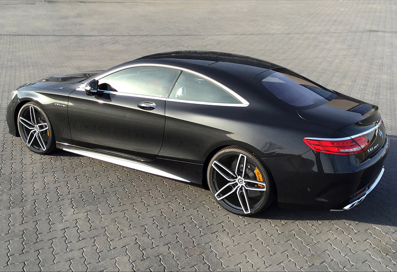 2014 Mercedes-Benz S63 AMG Coupe G-Power