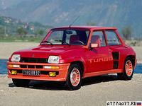 1980 Renault 5 Turbo = 204 км/ч. 160 л.с. 7.1 сек.