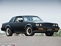 1987 Buick GNX = 200 км/ч. 276 л.с. 6 сек.