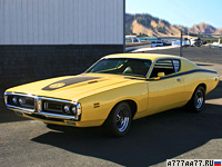 1971 Dodge Charger Super Bee = 210 км/ч. 385 л.с. 6.9 сек.