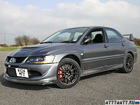 2004 Mitsubishi Lancer Evolution VIII MR FQ-400 = 282 км/ч. 399 л.с. 3.55 сек.