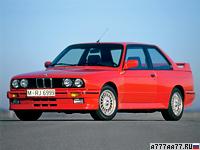 1986 BMW M3 Coupe (E30) = 235 км/ч. 200 л.с. 6.7 сек.