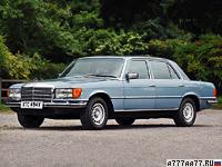 1972 Mercedes-Benz 450 SEL (W116) = 216 км/ч. 228 л.с. 9.1 сек.