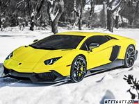 2013 Lamborghini Aventador LP720-4 50 Anniversario Edition = 350 км/ч. 720 л.с. 2.9 сек.