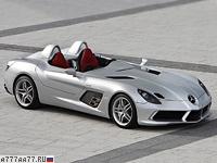 2009 Mercedes-Benz SLR McLaren Stirling Moss = 350 км/ч. 641 л.с. 3.5 сек.