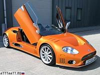 2004 Spyker C8 Spyder T = 320 км/ч. 525 л.с. 4 сек.