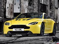 2013 Aston Martin V12 Vantage S = 330 км/ч. 573 л.с. 3.9 сек.