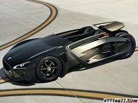 2010 Peugeot EX1 Concept = 260 км/ч. 340 л.с. 3.49 сек.