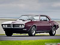 1968 Pontiac Firebird 400 = 200 км/ч. 335 л.с. 6.5 сек.