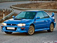 1998 Subaru Impreza 22B STi = 252 км/ч. 280 л.с. 5.4 сек.
