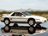1985 Pontiac Fiero GT = 202 км/ч. 142 л.с. 8 сек.
