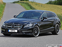 2013 Mercedes-Benz CLS 63 AMG Shooting Brake VATH = 350 км/ч. 846 л.с. 3.9 сек.