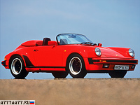 1989 Porsche 911 Carrera Speedster = 241 км/ч. 231 л.с. 6.1 сек.