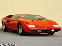 1974 Lamborghini Countach LP400 = 316 км/ч. 375 л.с. 5.5 сек.