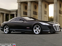 2005 Maybach Exelero = 351 км/ч. 700 л.с. 4.4 сек.