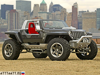 2005 Jeep Hurricane Concept = 250 км/ч. 680 л.с. 5.2 сек.