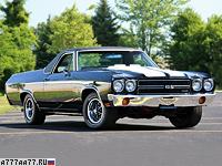 1970 Chevrolet El Camino SS 454 = 200 км/ч. 360 л.с. 7 сек.