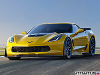 2014 Chevrolet Corvette Stingray Z06 (C7) = 330 км/ч. 630 л.с. 3.2 сек.