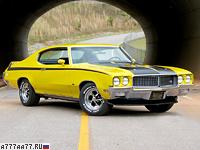 1970 Buick GSX 455 = 181 км/ч. 350 л.с. 6.4 сек.