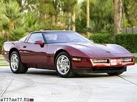 1990 Chevrolet Corvette ZR1 Coupe (C4) = 274 км/ч. 409 л.с. 5 сек.