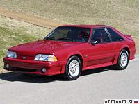 1987 Ford Mustang Cobra GT 5.0 = 230 км/ч. 225 л.с. 6.5 сек.