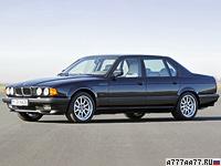 1987 BMW 750iL (E32) = 250 км/ч. 300 л.с. 7.4 сек.