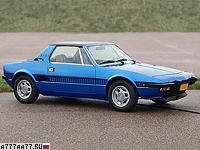 1978 Fiat X1/9 (128) = 180 км/ч. 86 л.с. 11.7 сек.