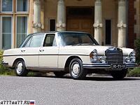 1967 Mercedes-Benz 300 SEL 6.3 (W109) = 220 км/ч. 250 л.с. 7.4 сек.