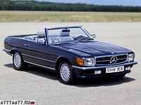 1980 Mercedes-Benz 500 SL (R107) = 222 км/ч. 240 л.с. 7.1 сек.