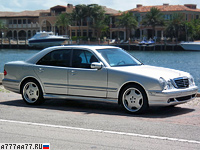 1999 Mercedes-Benz E 55 AMG 4Matic (W210) = 250 км/ч. 357 л.с. 5.8 сек.