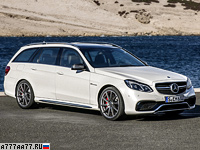 2013 Mercedes-Benz E 63 AMG S-Model Estate (S212) = 250 км/ч. 585 л.с. 3.7 сек.