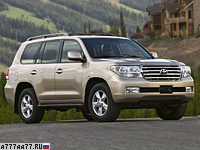 2007 Toyota Land Cruiser 200 V8 = 200 км/ч. 288 л.с. 9.2 сек.