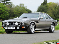 1974 Aston Martin Lagonda V8 Saloon = 239 км/ч. 310 л.с. 6.8 сек.