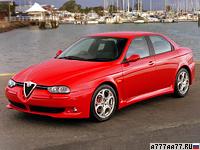2002 Alfa Romeo 156 GTA = 250 км/ч. 247 л.с. 6.3 сек.