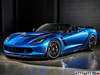 2015 Chevrolet Corvette Z06 Convertible = 351 км/ч. 659 л.с. 3.4 сек.