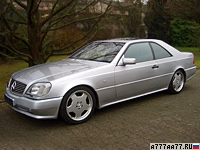 1998 Mercedes-Benz CL 7.0 AMG = 250 км/ч. 496 л.с. 5.5 сек.