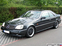 1998 Mercedes-Benz CL 7.3 AMG = 300 км/ч. 525 л.с. 5.2 сек.