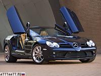2007 Mercedes-Benz SLR McLaren Roadster (R199) = 328 км/ч. 626 л.с. 3.9 сек.