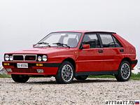 1989 Lancia Delta HF Integrale 16v (831) = 216 км/ч. 193 л.с. 6.7 сек.