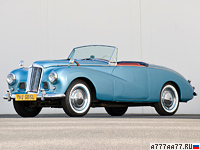 1953 Sunbeam Alpine Sport Roadster (MkI) = 150 км/ч. 78 л.с. 20.3 сек.