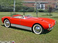 1956 Saab Sonett (94) = 157 км/ч. 58 л.с. 12.9 сек.