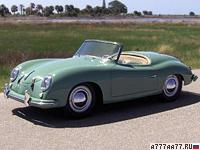 1952 Porsche 356 America Roadster (540) = 177 км/ч. 70 л.с. 13 сек.