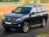 2009 Toyota Land Cruiser Prado 150 = 180 км/ч. 282 л.с. 9.2 сек.