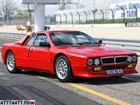 1982 Lancia Rally 037 Stradale = 226 км/ч. 205 л.с. 6.3 сек.