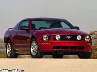 2005 Ford Mustang GT = 249 км/ч. 304 л.с. 5.5 сек.