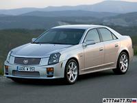 2003 Cadillac CTS-V = 268 км/ч. 405 л.с. 4.7 сек.
