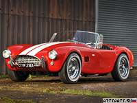 1963 AC Cobra 289 (MkII) = 223 км/ч. 275 л.с. 5.5 сек.
