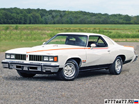 1977 Pontiac LeMans Can Am = 213 км/ч. 200 л.с. 10 сек.