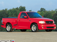 1999 Ford SVT F-150 Lightning = 225 км/ч. 360 л.с. 6.2 сек.