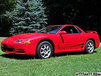 1994 Mitsubishi 3000 GT VR-4 = 269 км/ч. 324 л.с. 5.8 сек.